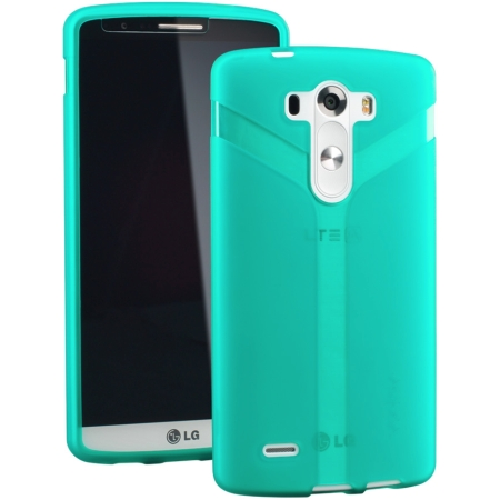 Ventev via gel case for LG G3 - Teal