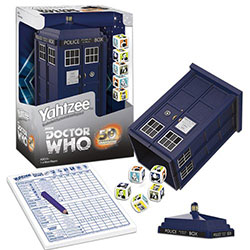 Game - Yahtzee Doctor Who Game