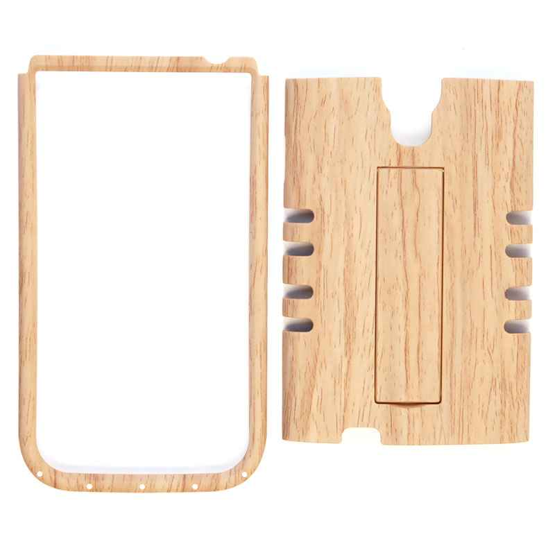 Unlimited Cellular Rocker Snap-On Case for Samsung Galaxy S4 (Light Wood Patern)