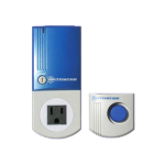 Safeguard Activator RX-9 Infrasonic Home Security Alarm (Plug and Play Alarm) (Retail Packaging)
