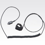 OEM Motorola 0180358B38 Ear Microphone System with Remote PTT Ring Switch