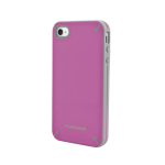 Puregear Slim Shell Case for Apple Iphone 4/4S (Rasberry Melon) - 02-001-01612