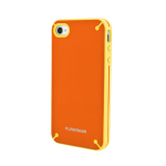Puregear Slim Shell Case for Apple iPhone 4/4S (Mandarin Orange) - 02-001-01613