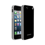 Puregear Slim shell Case for Apple iPhone 5 (Black Tea) - 02-001-01814