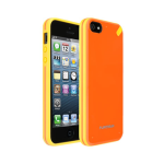 Puregear Slim shell Case for Apple iPhone 5 (Mandarin Orange) - 02-001-01823