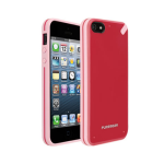 Puregear Slim shell Case for Apple iPhone 5 (StrawberryRhubarb) - 02-001-01825