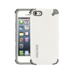 Puregear Dualtek Extreme Impact Case With Screen Protector for Apple Iphone 5 (White) - 02-001-01834
