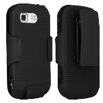 LG AX840, UX840 Tritan Rubberized Snap On Cover with Swivel Holster - 03133