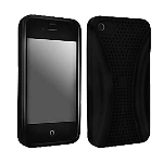 Apple iPhone 4/4s Rubberized Beyond Cell Case (Black) - 04158