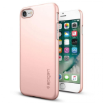Spigen  Inc. Thin Fit Case for iPhone 7 in Rose Gold