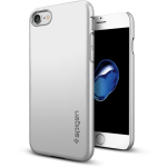 Spigen  Inc. Thin Fit Case for iPhone 7 in Satin Silver