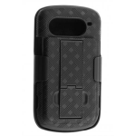 Verizon Rubberized Hard Shell Case Holster for Pantech Breakout 8995 - Black