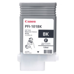 Canon PFI-101BK Ink Cartridge 130ML For iPF5000 Printer - Black