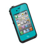 LifeProof Fre Waterproof Case for Apple iPhone 4/4S - Teal/Black