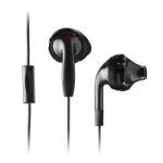 Yurbuds Ironman Inspire Talk Earphones with 1-Button Mic - Black