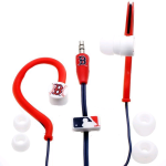 Nes Group MLB Boston Red Sox Logo Baseball Joggers Earphones