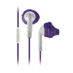 Yurbuds Sports Ironman Inspire Talk Earphones with Mic (Purple)