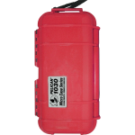 Pelican Products  Waterproof Case in Red 6 1/2 x 2 3/4 x 2 1/16