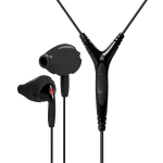 Yurbuds Sports Ironman Inspire Pro Earphones with 3 Button Mic - Black