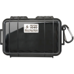 Pelican Products Waterproof Case Black/Black 6 9/16 x3 15/16 x1 3/4