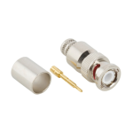 Amphenol RF RF Connector  BNC Straight Crimp Plug