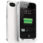 Mophie Juice Pak Air Battery Case for Apple iPhone 4/4S (White)