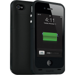 Mophie Juice Pack & External battery pack for Apple iPhone 4/4s - Black (2000 mAh)
