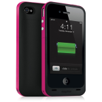 Mophie Juice Pack Extended Battery Case for Apple iPhone 4/4S (Magenta/Pink)