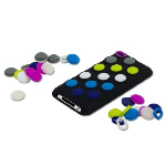 Incipio Dotties Case for Apple iPod Touch 4G - Black/White, Glow in the Dark, Lime, Navy Blue, Purple, Neon Blue. IP-009