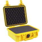 Pelican Products Yellow Equipment Case 9-3/8