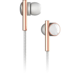 Caeden Linea N??2 In-Ear Headphone with Mic-3 controls - Faceted Ceramic & Rose Gold