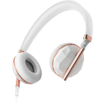 Caeden Linea N??1 On-Ear Headphone for iOS and Android - Faceted Ceramic & Rose Gold