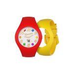 Candy Crush Unisex Watch Scented strawberry and Lemon, Interchangeable wristbands