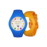 Candy Crush Unisex Watch Scented Blueberry and Mango, Interchangeable wristbands