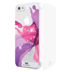 White Diamonds Liquids Booklet Case for Apple iPhone 5/5s (Pink)