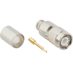 Amphenol RF RF Connector  TNC Straight Crimp Plug