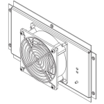 Chatsworth 115 V AC Wall Mount Enclosure Cooling Fan
