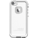LifeProof Fre Waterproof Case for Apple iPhone 5 (iPhone 5 ONLY) - GLACIER (WHITE/GUNMETAL GREY)