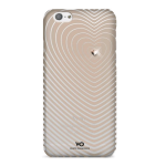 White Diamonds Heartbeat Case for Apple iPhone 6/6s - Rose Gold