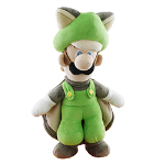 Nintendo - Super Mario Plush Flying Squirrel Luigi 15