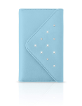 White Diamonds Grand Purse Case for Apple iPhone 6/6s, 7/8 - Light Blue