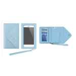 White Diamonds Grand Purse Case for Apple iPhone 6 - Light Blue