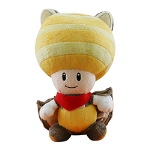 Nintendo - Super Mario Flying Squirrel Toad Plush 8