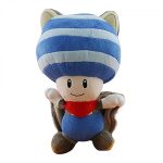 Nintendo - Super Mario Plush Flying Squirrel Toad 8