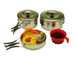Texsport Cookware Set, STNLS Steel - 13430