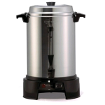 West Bend 55-Cup Polished-Aluminum Commercial Coffee Urn