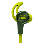 Monster iSport Headphones In Ear Achieve Green
