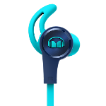 Monster iSport Headphones In Ear Achieve Blue