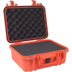Pelican Products Equipment case  foam Orange 2 x 9 1/16 x 5 3/16