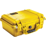 Pelican Products Custom case for RF Wattmeter Kit - yellow